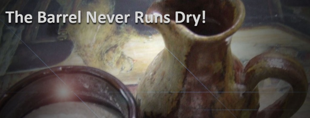 barrel-never-runs-dry