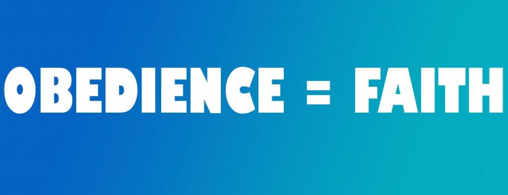 OBEDIENCE-faith
